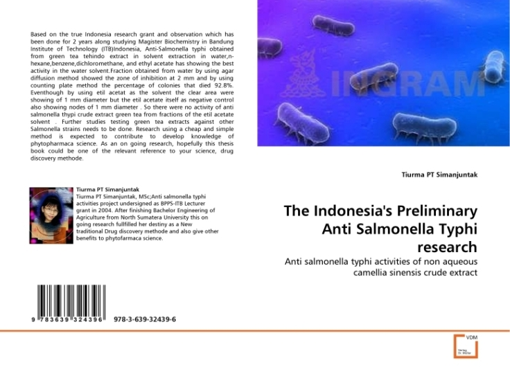 The  indonesia's preliminary anti salmonella thypi research